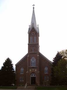 Historic St. Michaels Catholic Church of Tarnov, Nebraska